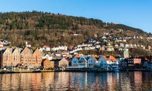 De stad Bergen