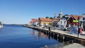 De stad Stavanger