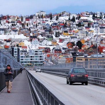 De stad Tromso