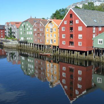 De stad Trondheim