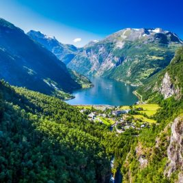 Busreis De drie nationale parken van Noorwegen
